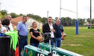 De nouveaux équipements pour le club de rugby