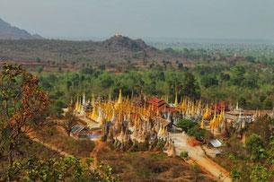 Temple de Shwe Inn Dein, Inle Lac
