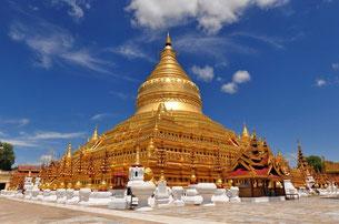 Stupa de Shwezigon, Bagan