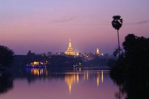 Parc du Kandawgyi Lac, Yangon