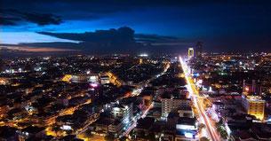 Vue du bar Eclypse, Phnom penh