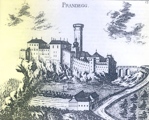 Historische Ansicht von Prandegg