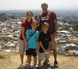 Arrival in Guatemala, July 2008