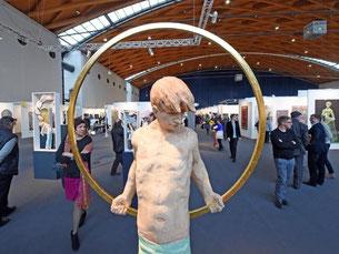 Die Kunstmesse art Karlsruhe läuft bis zum 08. März. Foto: Uli Deck