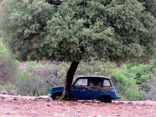 ein vergessener Renault R4 - aus den vergangenen 70-igern