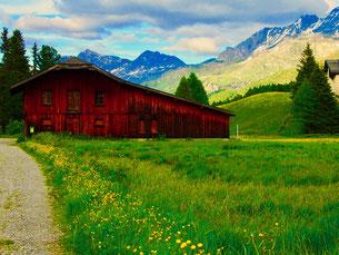 das Engadin, ein paradiesisches alpine Hochtal