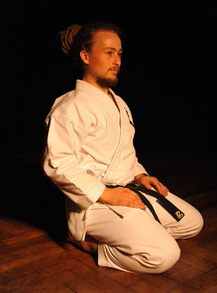 Peter Krowiorsch Portrait Moku Buki Owner Goju-Ryu Karate-Ka