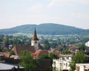 Müllheim mit Martinskirche