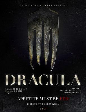 DRACULA - Plakat-Motiv von Antechambre Design.