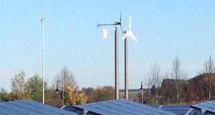 PV Kombi mit Kleinwindanlage Solar Wind