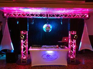 Bewegtes Licht / Movingheads für Galas, Hochzeiten und Geburtstage