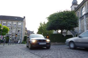 Die CDU Stolberg setzt sich für eine Verkehrsberuhigung in der Burgstraße ein.