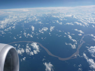 Le fleuve de l'Amazone au Pérou