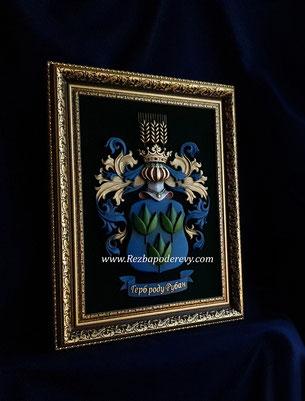 Фамильный герб Рубан