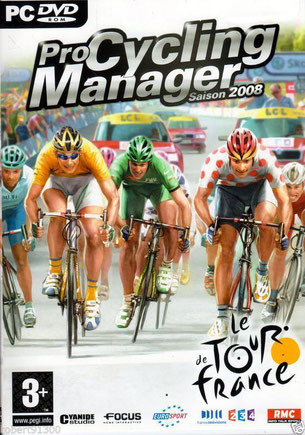 PRO CYCLING   MANAGER    2008   PC DVD
