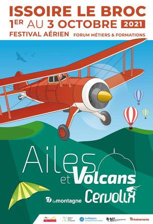 Ailes et Volcan cervolix  2021 Mondial Des Patrouilles Acrobatiques Maquettes 1/72