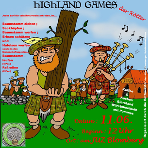 Highland Games -Flyer