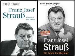Rezensionen zu Strauß-Biografien: Ein auf das Bild klicken...