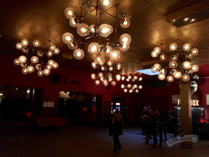 Vorraum der Konzerthalle im Astra Kulturhaus Berlin / Foto: Batty Blue