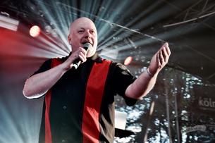 Ronan Harris (VNV Nation), Amphi-Festival 2017 / Foto: Dunkelklaus