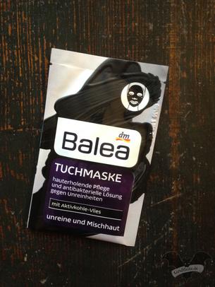 Balea Tuchmaske / Foto: Gothamella