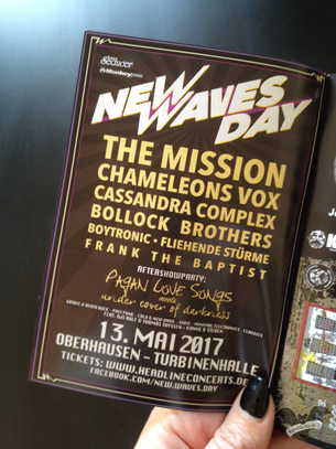Flyer des New Waves Day 2017 / Foto: Gothamella