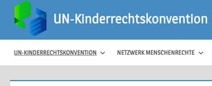 Screenshot kinderrechtskonvention.info
