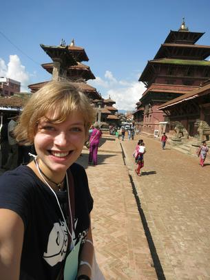 Emily in Nepal