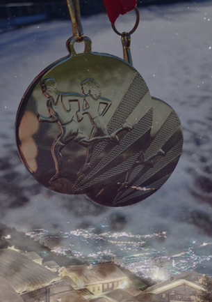 So sehen die Winterlauf-Medaillen aus