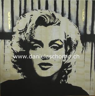 Daniela Schorno Künstlerin im Wohnbereich - Pop Art Deco Minimal Abstrakt Kunst