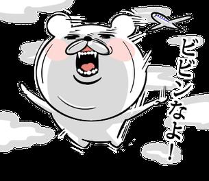 Bear of the anger face 2(キレ顔クマ2(追い掛け回すで~))