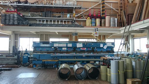 工場内 6mベンダー
