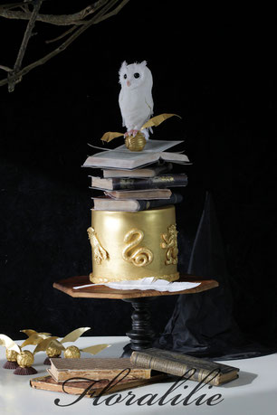 Harry Potter Cake | Floralilie Sugar Art