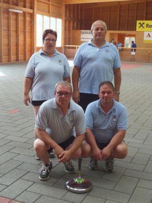 Hohenau 2: Palecek Silvia, Pfundner Berti, Palecek Roman, Andre Thomas