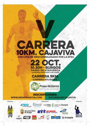 V 10 KM. CAJA VIVA - Burgos, 22-10-17