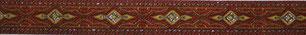 Borte rotgold, 16mm, Halsband Hund