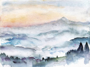 Säntis - Nebel