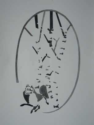 Drei Hohe Birken von Künstlerhand