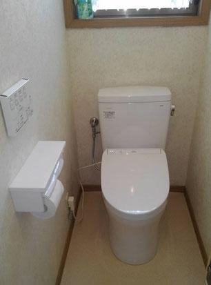 トイレ交換 ピュアレストQR手洗い無し