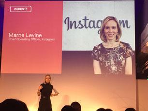 インスタグラム Marne Levine COO