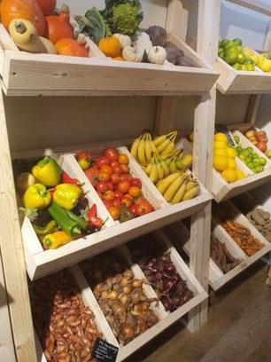 Friuts et légumes coeur d'artichaut