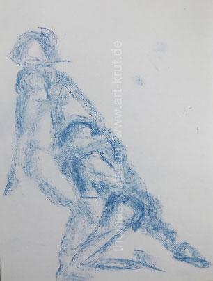 Quickies in Kreide: Thomas Krutmann, art-krut.de
