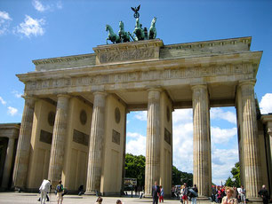 Brandenburger Tor, Berlin, Mecklenburg