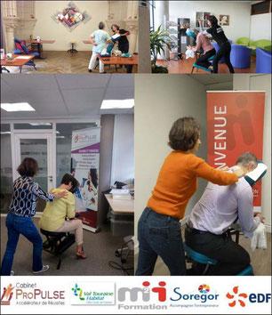 massage en entreprise, avec elise jeanguiot - Tours, 37 - via energetica