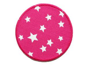 Bild: Hosenflicken Flicken Sternchen pink