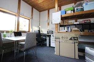 おそうじハウス新潟の事務所内部