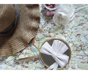 Handgefertigte Fliege und Einstecktuch, farblich abgestimmt auf Dein Brautkleid