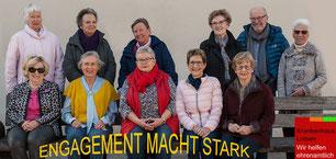 """Auch die Krankenhauslotsen der Caritas Bib.-Slg. sind der Meinung: """"Engagement macht stark"""""""