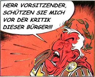 Imperator Wagner am 13.10. auf der Sitzung des Eigenbetriebes Kurverwaltung Dangast