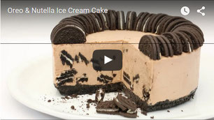 oreo cake,cake ice cream,ice cream recipe,nutella cake,oreo and nutella cake,oreo ice cream,nutella ice cream,